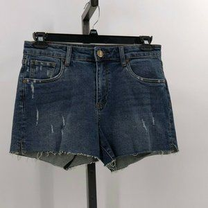 Kut from the Kloth high rise short jean shorts 8